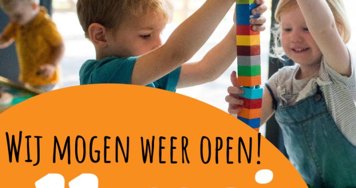 Kinderopvang 11 mei weer open