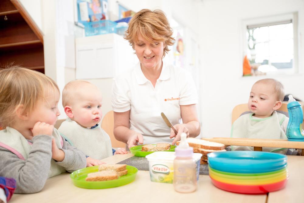 Voeding in de kinderopvang