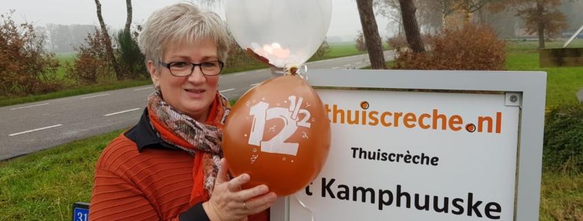 Kinderopvang Bruinehaar | TC 't Kamphuuske 12,5 jaar